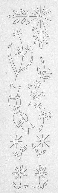 Workbasket Embroidery Transfer