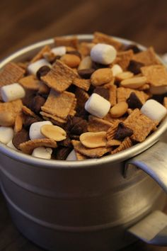 Easy Smores Snack Mix - A fun treat for the kids... and you!