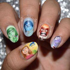 Instagram media celinedoesnails -  Inside Out #nail #nails #nailart