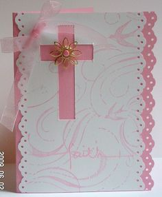 Allison's Communion 2009 by treelady62 - Cards and Paper Crafts at Splitcoaststampers