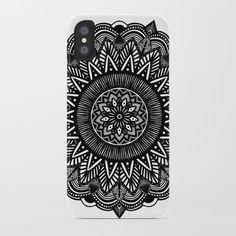 mandala by Nogoodco #mandala #blackandwhite #illustration #art #design #iphone #case #cases