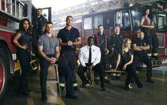 The Chicago Fire Actors Talk About That Big Kiss Chicago Fire, Chicago Shows, Chicago Med, Gabby Dawson, Monica Raymund, Murder Mystery Games, Murder Mysteries, Netflix, Crossover Episodes