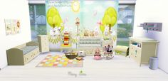 Sims 4 CC's - The Best: Nursery Bedroom by Mony Sims