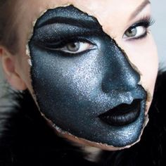 Halloween makeup: Alien or android?  http://www.glossybox.com/