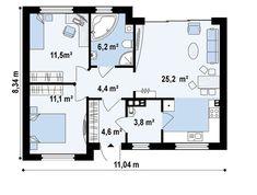 proiecte de case de 60-70 mp 60-70 square meter house plans 7