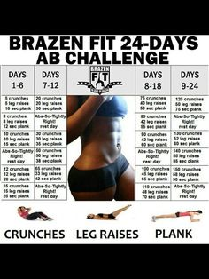 My 30 day challenge. No rests though.