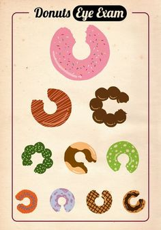 Donuts Eye Exam by Zachary Huang