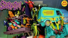 New Scooby Doo Giant Box Toys Friends & Foes Action Figure Collection Un...