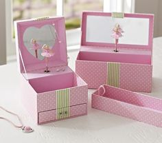 Pink Dot Sadie Jewelry Boxes #westelm
