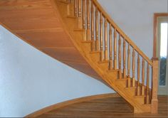 Stair Treads, Staircases, Hardwood, Stairs, Unique, Free, Design, Home Decor, Natural Wood