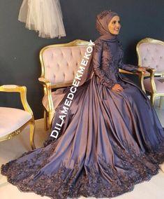 Red Wedding Dresses, Bridal Dresses, Prom Dresses, Modest Fashion, Hijab Fashion, Simple Hijab, Marriage Dress, Fantasy Gowns, Hijab Dress