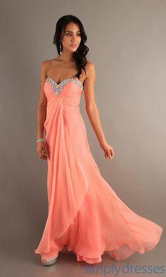 c8967072ea8c Blush Sexy Prom Dresses, Long Designer Evening Dresses - SimplyDresses. Pink  Bridesmaid Dresses LongBest ...