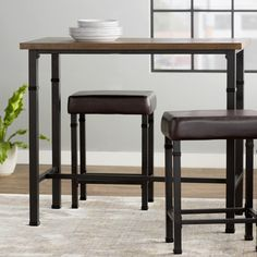 You'll love the Billancourt 3 Piece Pub Table Set at Wayfair - Great Deals on all Furniture  products with Free Shipping on most stuff, even the big stuff.