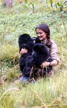 Dian Fossey studied Gorillas extensively for 18 years. she fought off deforestation, poaching, and is probably the sole reason the mountain gorillas of Rwanda are not extinct today. - she was basically the chain-smoking, poacher-hunting, badass version of Jane Goodall. Her murder by machete remains a mystery.