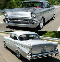 One Stop Classic Car News & Tips – Worldwide classic cars. Chevrolet Bel Air, 1957 Chevy Bel Air, Chevrolet Chevelle, Chevy Classic, Old Classic Cars, Old School Cars, Us Cars, Custom Cars, Cool Cars