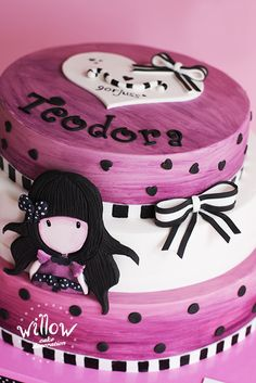 Gorjuss Lady bird cake