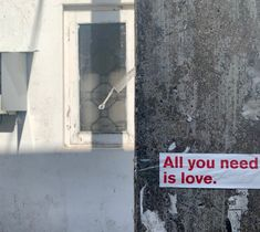 the wall is made of stone - our hearts are not!  #aynil #streetart #sticker #love #streetart #aynil_org #allyouneed #nofilter #photography #art #allyouneedislove All You Need Is Love, Street Art, Sticker, Decals, Urban Art, Stickers