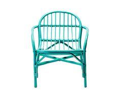 Wide Bamboo Chair in aqua by Bloomingville Furniture. Nekem meg csak szépen át kell majd festenem, ami most natúr.