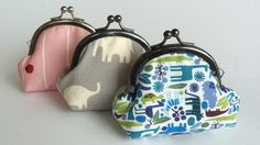 how to make a coin purse - Google Search