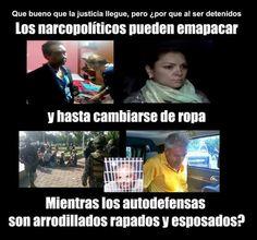 La diferencia en que el gobierno trata a los criminales y a los luchadores sociales #AccionGlobalporAyotzinapa - http://www.pixable.com/share/5Xc1K/?tracksrc=SHPNAND2&utm_medium=viral&utm_source=pinterest