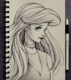 Portrait of Ariel~ By~ Natalico @devientart.com