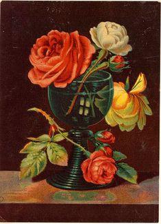 Antique Passion-Láminas Antiguas,Vintage,Retro...y manualidades varias: Rosas para todas...