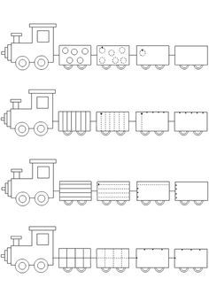 Crafts,Actvities and Worksheets for Preschool,Toddler and Kindergarten.Lots of worksheets and coloring pages. Train Crafts Preschool, Trains Preschool, Preschool Writing, Homeschool Kindergarten, Free Preschool, Kindergarten Worksheets, Tracing Worksheets, Kids Crafts, Pre Writing