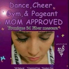 Younique's 3d Fiber Lash Mascara is perfect for the dancer, cheerleader, gymnast, or pageant girl in your life! Goes on like mascara, is hypoallergenic, and water resistant. Add our vibrant Moodstruck minerals pigment eye powders to get a fabulous look!! Order today, just click the link below! www.youniqueproducts.com/MelissaDSmith