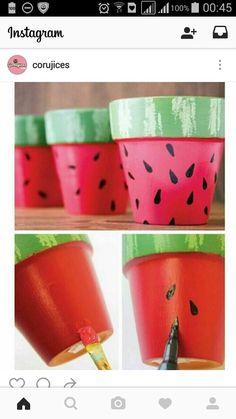 Vaso melancia
