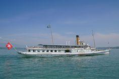 S/S Savoie - ABVL | Association des amis des bateaux à vapeur du Léman Yvoire, Steam Boats, Konica Minolta, Classic Motors, Digital Camera, Switzerland, Opera House, Motor Yachts, Building