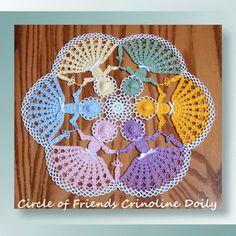 Circle of Friends Crinoline Doily - SKU-0555