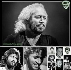 Barry Gibb the only living brother  from the Bee Gees