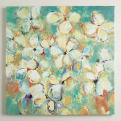 One of my favorite discoveries at WorldMarket.com: 'Floral Medley' by Lisa Ridgers