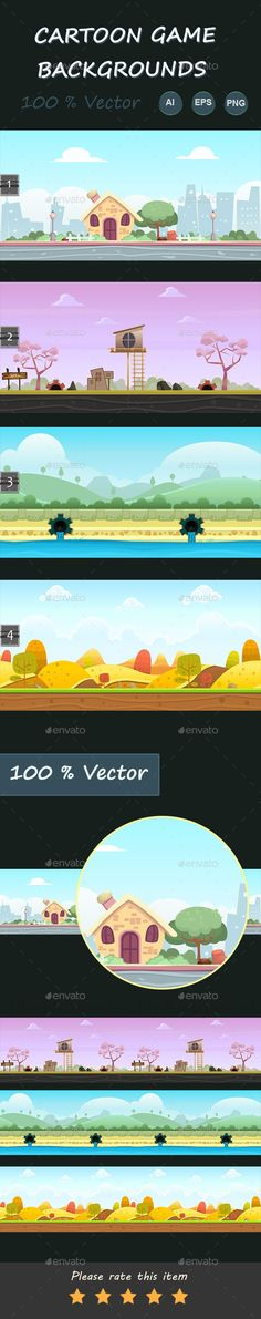 Cartoon Game Backgrounds Download here: https://graphicriver.net/item/cartoon-game-backgrounds/11570032?ref=KlitVogli