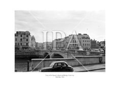 St Patrick's Bridge and Street, Cork City. May 1962 See more photos like this at www. Fine Art Photo, Photo Art, Cork City, History Photos, Photo Archive, More Photos, St Patrick, Ireland, Fine Art Prints