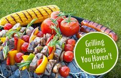 Fire up the grill! We've got dozens of simple and healthy grilled recipes for you to try this spring. YUM! | via @SparkPeople #food #summer #barbecue #BBQ #cookout