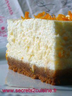 Gâteau au fromage blanc - Les Secrets de Cuisine de Christine Bon Dessert, Flan, Cornbread, Vanilla Cake, Food And Drink, Cooking, Ethnic Recipes, Miami, Cakes