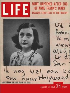 The world followed the sad story of Anne Frank's family in LIFE Magazine. What happened to YOUR family after World War II? Visit our site to see how you can learn more about your family history during the 1950s. #familyhistory #1950s #genealogy