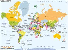 Printable map of the world for free download also buy high explore the world with this map gumiabroncs Gallery
