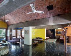 Sarabhai house / Ahmedabad - India / Le Corbusier architect / 1954-56 / Manuel Bougot Photographer