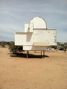 Noah Purifoy in Joshua Tree