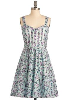Cabbage Rose dress - XL