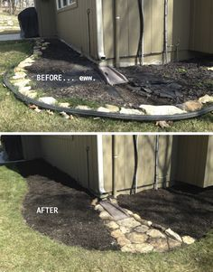 Your backyard landscaping is going to have to be about many different things but the most important one of these if your well being. Most people get into backyard landscaping because they want to change the look and feel of their home Garden Yard Ideas, Backyard Projects, Lawn And Garden, Outdoor Projects, Backyard Ideas, Backyard Designs, Rain Garden, Garden Beds, Landscape Drainage