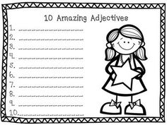 "100th Day of School Writing Activities - 5 100th Day of School Writing Prompts, and a ""I can write 100 words"" activity. Great for K-2nd."