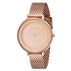 Skagen Women's Ditte SKW2334 Rose Gold Stainless-Steel Quartz Watch