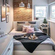 Cinco dicas de decoração especiais para quem tem quarto pequeno — Depois Dos Quinze