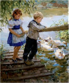Yuri Krotov | Russian Impressionist Painter