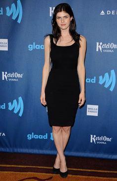 Alexandra Daddario Photos: 24th Annual GLAAD Media Awards
