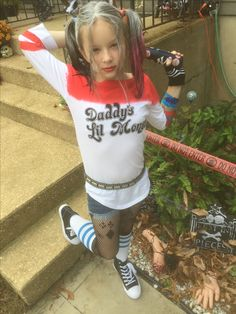 Harley Quinn Halloween Costume, Creepy Halloween Costumes, Halloween Kids, Sims 4 Children, Feminized Boys, Daddy And Son, Young Girl Fashion, Sporty Girls, Cute Girl Outfits