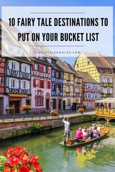 One of the best things about exploring and traveling around the world is seeing how different other cities are from your own. Some are bigger, some are smaller, and some look like they are straight out of a fairy tale. Check out these 10 whimsical cities to add a little inspiration to your travel bucket list!